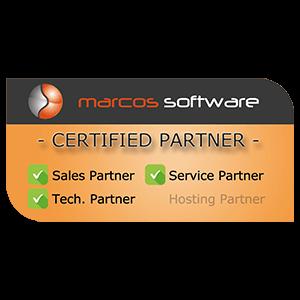 marcos software certified partner Logo